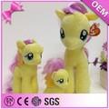 La fábrica de china de encargo de peluche unicornio juguete suave/de juguete de peluche unicornio