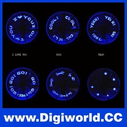 Blue Red Cycling Bicycle Motorcycle Car Tyre Tire Lights LED Mountain Bike Spoke Light