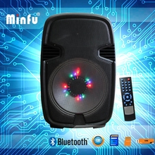two wireless mic portable sound power pa system