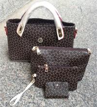 4 in 1 style ,cheap price PU women handbag.