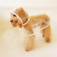 Transparent Pet Rain Coat K030