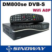 Enigma2 Full Hd DM800SE a8p WIFI With Original SIM A8P DVB-S2 Tuner Satellite Receiver DM800 HD SE A8P WIFI Digital TV Decoder