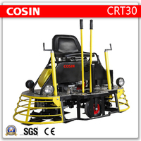"Cosin 30"" concrete surface finisher, ride on concrete trowel, finishing trowel"
