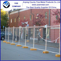 Rapid Mesh 240 x 210cm Galvanized Steel Temporary Fence Panel/decorative dog fences