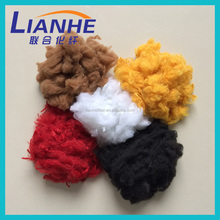 100 recycled pet fiber for carpets, ivory color