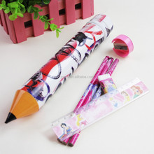 special shaped pencil case stationery set