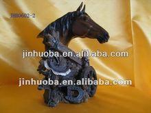 nuevo diseño creativo <span class=keywords><strong>de</strong></span> la resina cabeza <span class=keywords><strong>de</strong></span> caballo artesanía <span class=keywords><strong>escultura</strong></span>