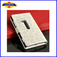 Luxury Flip PU Leather Case Holder Wallet Pouch Cover Protector for Nokia Lumia 920 Mobile Cell Phone Bag Accessories