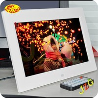 Promotion gift showing stand factory directly sale chinese sex video 10 inch HD picture video music play digital photo frame