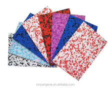 eva print rubber sheet roll wholesale from china