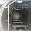 Automatic high pressure small retort machine for pouch