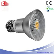 Alibaba Online Selling LED Light bulbs IP65 Waterproof 100LM/W 5W 120D E26/E27 PAR20 LED par light