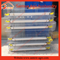 Design Best-Selling stackable metal storage quail farm cage