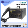 Quick 850A rework station, hot air bga smd rework station