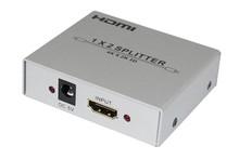 HDMI 1.4, HDCP 1.1 and DVI 1.1 compliant 3D HDMI 1*2 Splitter 1080p