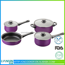 Newest Best porcelain coated cast iron cookware