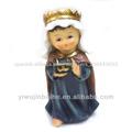 Resina de la figura de jesús niño jesús estatua religiosa. Zj-03416
