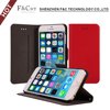 Newly Fashion Premium PU Leather Flip Magnet Stand Shell Case Cover Suitable For Apple iPhone 6 6S