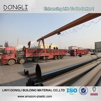Factory price 6 inch polyethylene tubing 160mm HDPE underground water pipe
