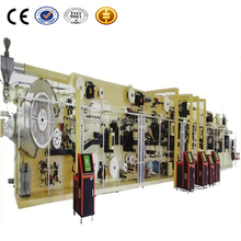 Full Servo control baby diaper production line with packaging machine