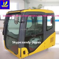excavator operator cab for ZX210, OEM excavator cab made in China, ZX210 excavator cabin