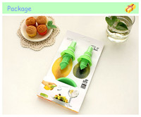 2014 new cooking tool set lemon fruit of citrus lime spray kitchen supplies