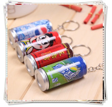 TL- 08 novelty metal can pen , promotional metal keychain ball pen