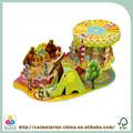 Libro pop-up/3d libro para el aprendizaje de los niños o de entretenimiento