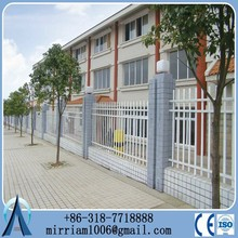 2.1m high Fremantle spear top wrought iron security fence agency