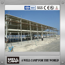 prefabricated steel structure building/portable home in WELLCAMP