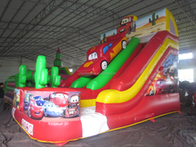 2015 New arrival Inflatables playground slide cheap inflatable water slides for sale