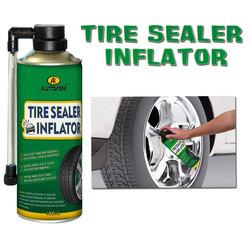 tire sealer inflator spray tire repair spray tire sealant and inflator