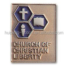 good quality CHURCH lapel pin badge