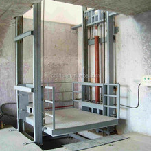 2 ton wall mounted hydraulic lead rail lift
