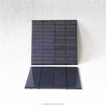 Low price 155*155mm 12V 3W FR-4 mini epoxy solar panel with polycrystalline cells