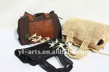 Natural summer beach/shopping/tote straw bags