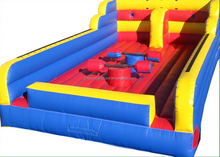 Newest design inflatable bungee run combo games,pole jousting for sale