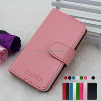 Cheap Price Small MOQ Wholesale Fashion Stand Flip Wallet Leather Case for Gionee E6