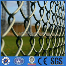 Design fence chain link fence system/Diamond mesh fence/manufacturer made in china