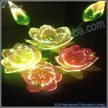 wedding stage decorations lighted flower