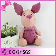 Famous Cute Cartoon Custom Stuffed Toy Birthday Pig Plush Toy