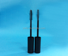 15ml Mascara packaging tube with black wand brush, soft hair streaks packaging tube