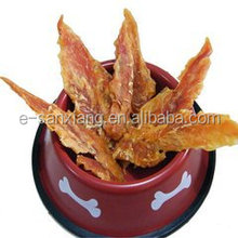 Dried Chicken Jerky Strip with Filet Dog Food