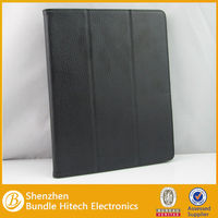 For ipad 2/3/4 smart cover real leather case