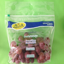 Best sell Sweet cherries packaging bag Fruit shopping bag Grape pouch