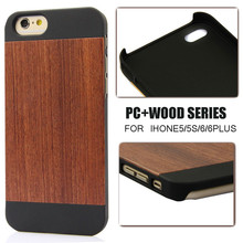 100% Natural rose wood for iphone5s cover,PC wood protector for iphone 5