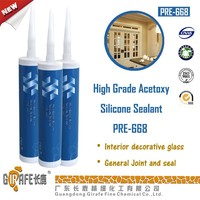 Quick dry silicone sealant Acetic cure sealant