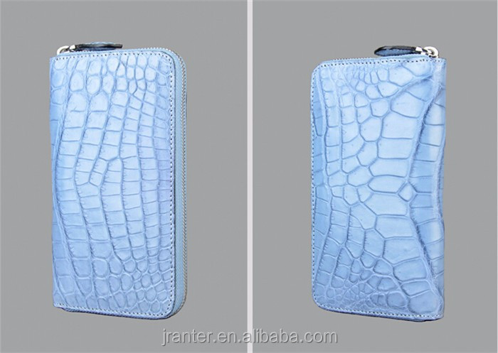 women leather wallet high quality crocodile leather luxury wallet for women_9