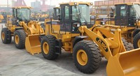 5 ton wheel loader XCMG ZL50G 3 cubic meter with pilot control and joystick