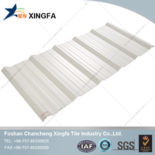 Building Materials UPVC Plastic Roof Tile For Bamboo Houses
